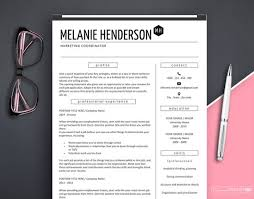 Modern Marketing Resume Resume Template Modern Resume Template Marketing Professional