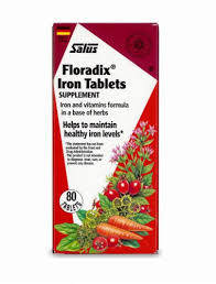 Floradix Iron Supplement Tablets, 80 ct - Food 4 Less