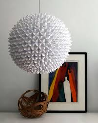 all white diy room decor faceted pendant lights the large sphere creative home