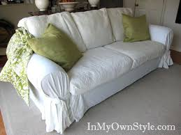 how to cover furniture. How To Cover A Sofa With Tie Arm Slipcovercustom Furniture Slipcovers For Sofas Reclining K