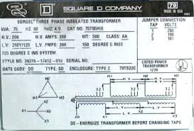 Sorgel Transformer Chart 3 Phase Dry Type Transformer 480 208 Wiring Diagram Wiring
