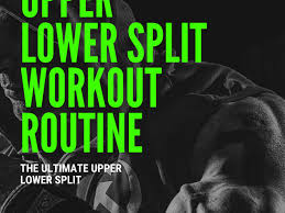 Design Your Own Workout Plan Advanced Upper Lower Split Workout Plan Dr Workout