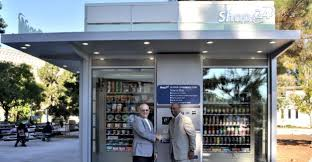 Huge Vending Machine Inspiration Automated Store Opens