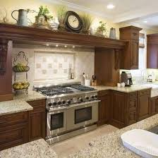 top of kitchen cabinet decor ideas best 20 above cabinet
