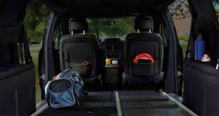 interior cargo area of the dodge grand caravan