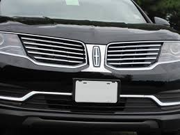 2018 lincoln mkx grill. contemporary mkx mkx 20162018 lincoln 1 pc stainless steel front grill accent trim intended 2018 lincoln mkx grill