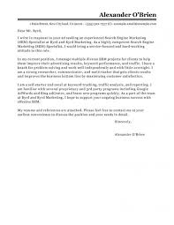 Best Sem Cover Letter Examples Livecareer In Cover Letter Examples