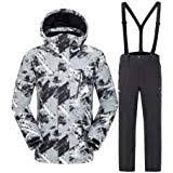 Amazon.com : <b>Ski</b> Jacket Pants <b>Set Winter Womens</b> Snowsuit ...