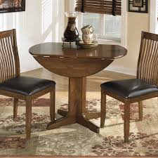 gorgeous dining room furniture assembled round drop leaf table pallet medium brown wood acrylic for 2 cherry tiny