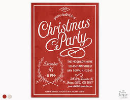Corporate Holiday Party Invite Holiday Party Invitations Christmas Party Invitations Corporate Holiday Event Rustic Wood Christmas Invitation Vintage Holiday Party