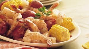 shrimp sweet corn and new potato boil