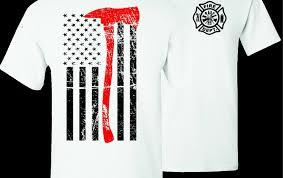 Firefighter <b>Thin</b> Red Line <b>Mens Short Sleeves</b> Polo Sport <b>Shirt</b> ...
