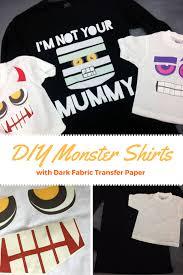 diy monster shirts