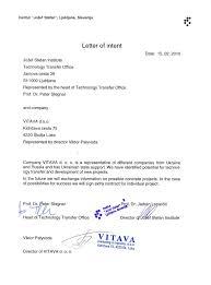 Letter Of Intent Jvwithmenow Com
