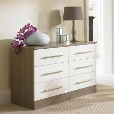 white chest of drawers modern