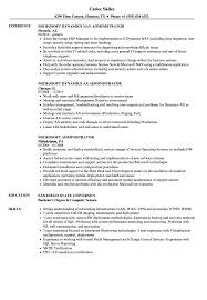 Microsoft Administrator Resume Samples Velvet Jobs