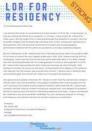 letter of recommendation for residency residency admission samples uk residencyadmissionsamplesuk on