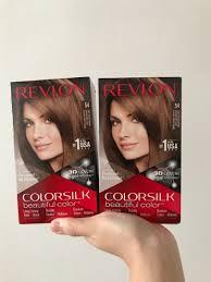 Revlon 54 Light Golden Brown Revlon Colorsilk Hair Dye 54 Light Golden Brown Health