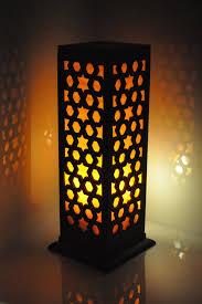 dsc 0292 768x1152 wooden carved floor lamp 16 inch indoor lighting home decorative