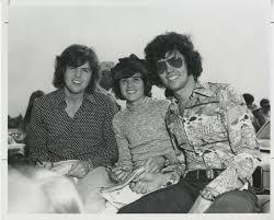 Merrill Osmond, Donny Osmond, and Alan Osmond - Ralph J. Satterlee  Indianapolis 500 Photographs - Ball State University Digital Media  Repository