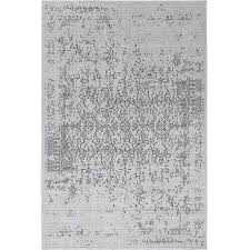 distressed turkish gray rug