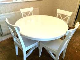 white dining table set gumtree full size of 7 piece oval and chairs best round glasgow white dining table set gumtree