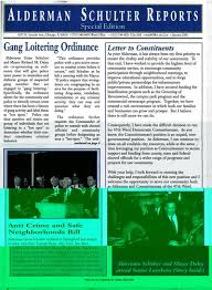Alderman Schulter Reports, Special Edition, January 2000 | Alexander  Street, a ProQuest Company