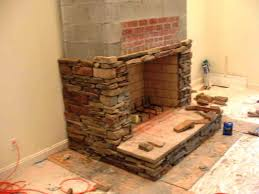 how to build a raised hearth fireplace home fireplaces firepits