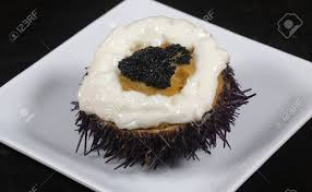 Sea Urchin Eggs Stuffed With Crab Stock ...