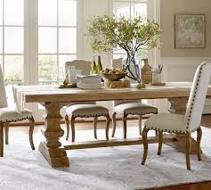 banks reclaimed extending dining table pottery barn