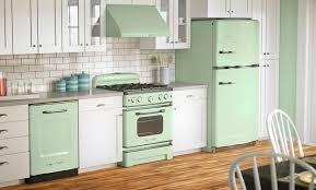 retro looking appliances. Fine Looking Big Chill Green Kitchen  Retrolooking Appliances From Big Chill  Modern Made Classics On Retro Looking Appliances
