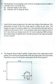 Area And Perimeter Word Problems Worksheets For Grade 5 Worksheets ...