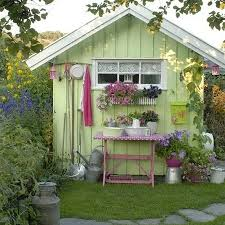 garden hut. Garden Shed Hut Wendy House Room Office T
