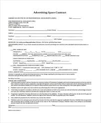 9+ Advertising Contract Templates - Sample, Examples | Free ...