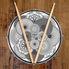 Bass Drum Skin Design Graphic Drum Skin For Customizing Drum Kit Supercluster