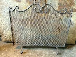 vintage fireplace screen incredible antique bronze french with screens a46 fireplace