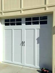 open my garage door manually from the outside how