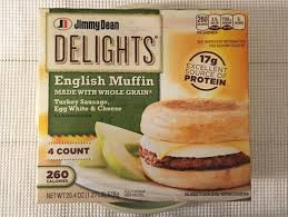 Delights Turkey Sausage, Egg White & Cheese <b>English</b> Muffin