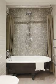 Freestanding Tub In Front Of Shower  Transitional  BathroomFree Standing Tub With Shower