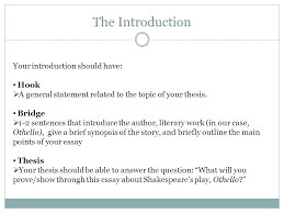 engu writing a literary essay structure almost all essays have  4 the introduction