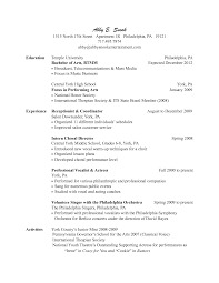 Ideas Of Resume Cv Cover Letter Salon Receptionist Resume Job