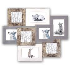 details about marais wood multi aperture photo frame for 4x4 and 6x4 photos