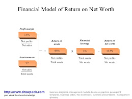 Net Worth Of Business Financial Model Of Return Of Net Worth Business Diagram