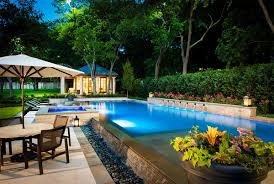 ideas modern patio design pool house