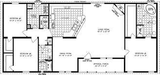 3 Bedroom Open Floor House Plans Creative Design Awesome Decorating Ideas