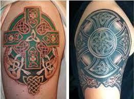 Keltský Kříž Tetování Symbolismus Historie
