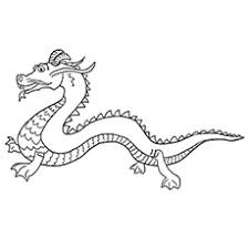 dragon pictures to color.  Dragon Chinese Dragon Worksheets To Color To Pictures D