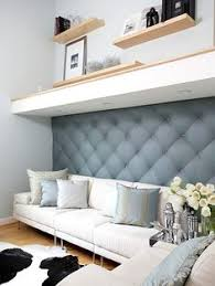 Small Picture Upholstering your walls or adding fabric wall panels is an