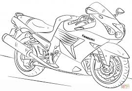 Small Picture Kawasaki Motorcycle Coloring Page Free Printable Coloring Pages