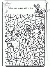 Nothing brings out a little artist like coloring. Color By Number Disney Colouring Pages Coloring Home